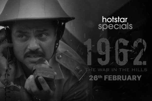Abhay Deol: 1962 The War in the Hills Web Series HD is available for free.
