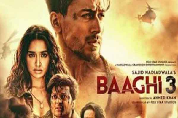 Baaghi 3 full Movie Download leaked on tamilRockers
