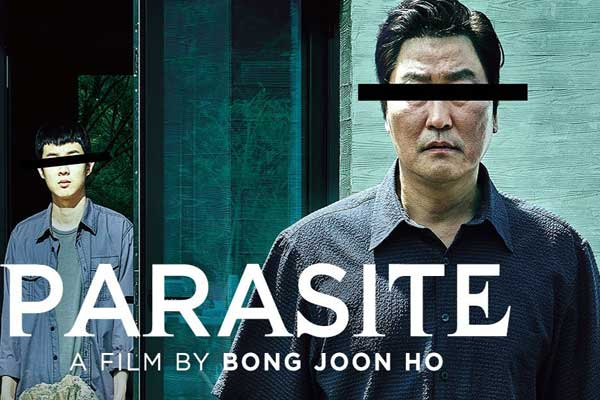 Parasite full English movie watch and download Isaimini, Mp4moviez leaked online